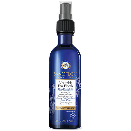 Sanoflore Organic Field Cornflower Floral Water Soothing Eye Toner