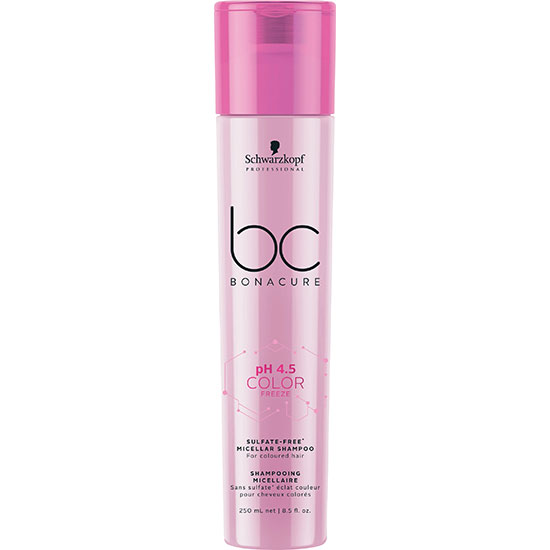Schwarzkopf BC Bonacure pH 4.5 Colour Freeze Micellar Sulphate Free Shampoo 250ml