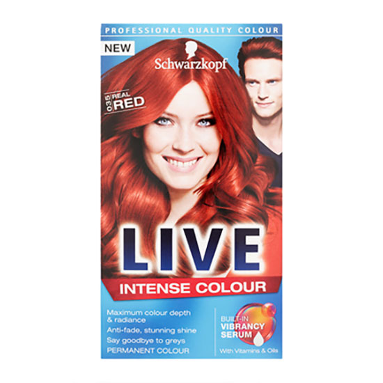 Schwarzkopf LIVE Colour Intense Colour 035 Real Red
