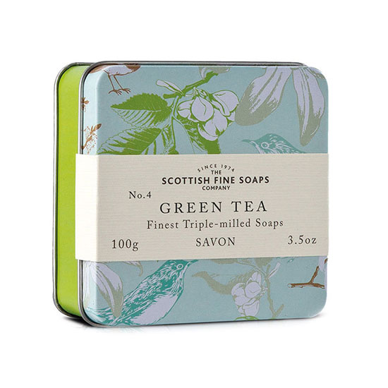 Scottish Fine Soaps Green Tea Triple Milled Soap 100g