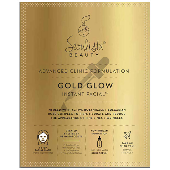 Seoulista Beauty Gold Glow Instant Facial