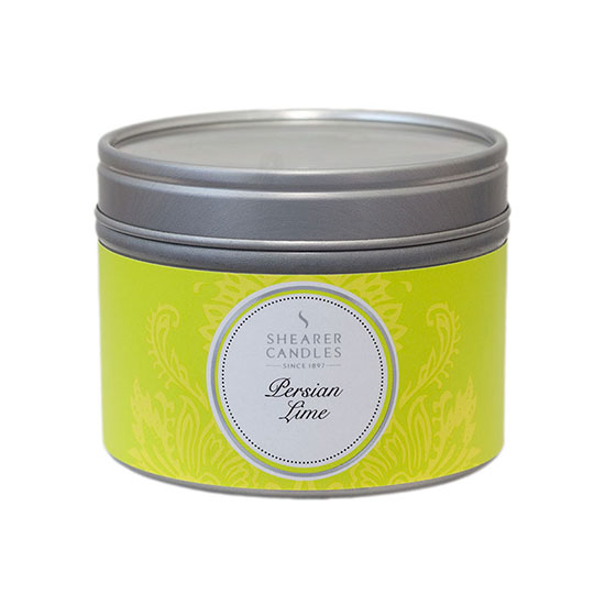 Shearer Candles Persian Lime Small Candle Tin