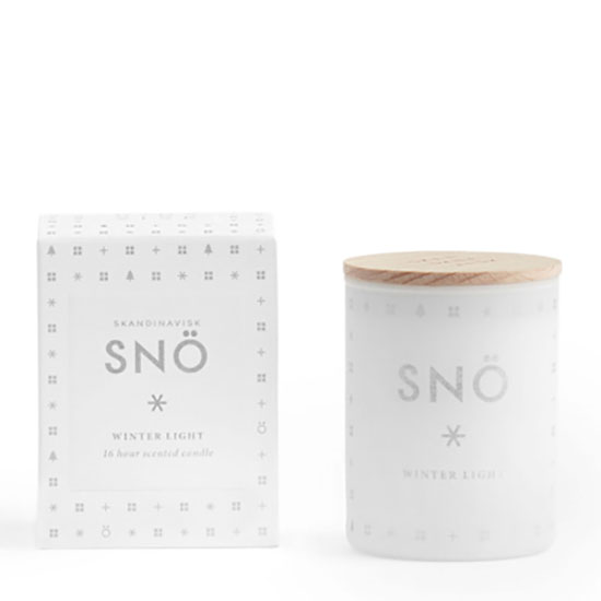 SKANDINAVISK SNO Mini Scented Candle With Lid 55g