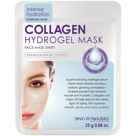 Skin Republic Hydrogel Face Sheet Mask Collagen