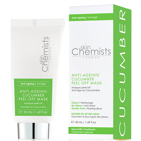 skinChemists London Anti-Ageing Cucumber Facial Mask