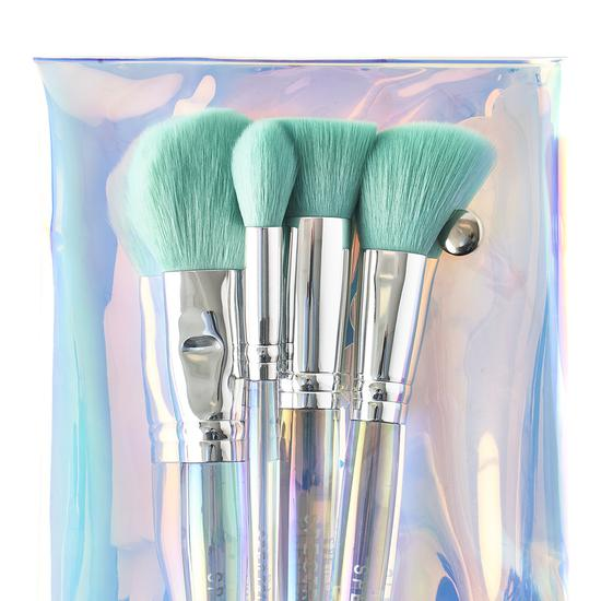 Spectrum Collections Oceana 4 Piece Face Brush Set