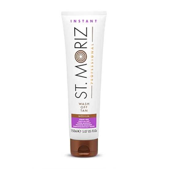 St Moriz Professional Instant Wash Off Tan Medium 150ml