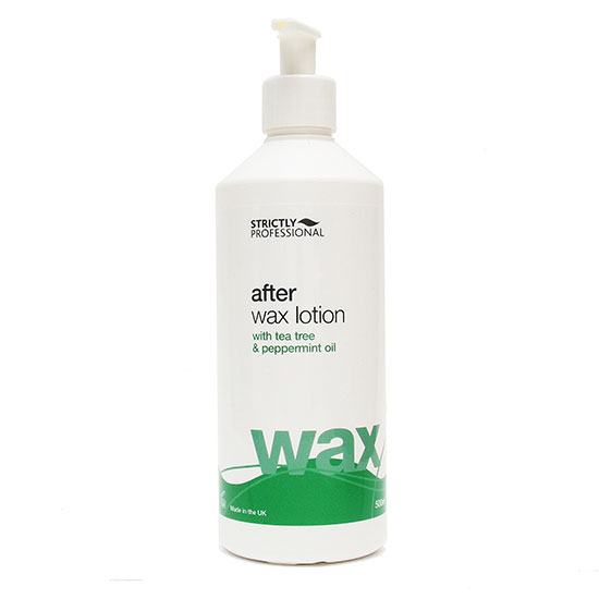 Strictly Professional After Wax Lotion Tea Tree 500ml