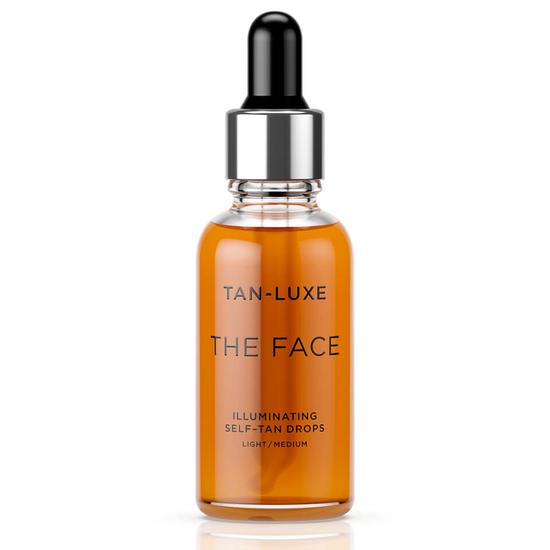 TAN-LUXE The Face Illuminating Self Tan Drops 30ml Light/Medium