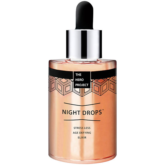 The Hero Project Night Drops Stress Less Age Defying Elixir
