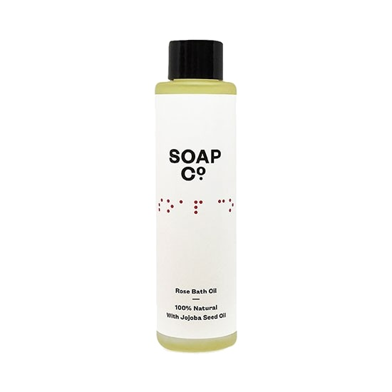 The Soap Co. Rose Bath Oil 100ml