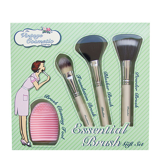 The Vintage Cosmetic Company Essential Brush Gift Set
