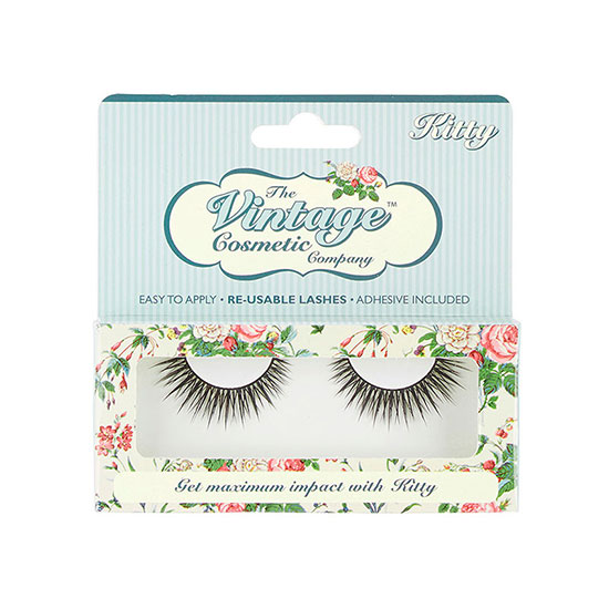 The Vintage Cosmetic Company Kitty False Eyelashes
