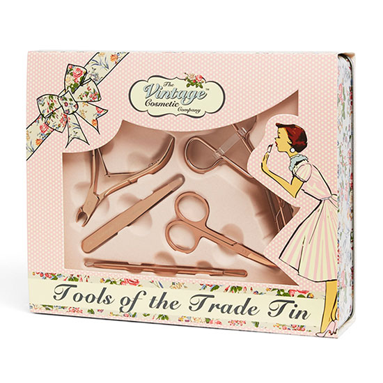 The Vintage Cosmetic Company Tools of the Trade Tin