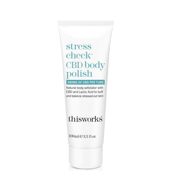 This Works Stress Check CBD Body Polish 100ml