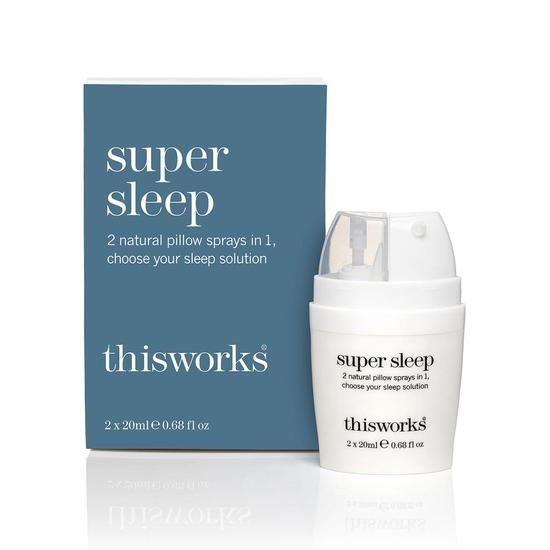 This Works Super Sleep Dual Pillow Spray