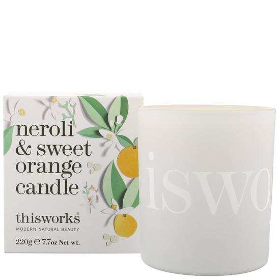 This Works Gifts Neroli & Sweet Orange Candle 220g