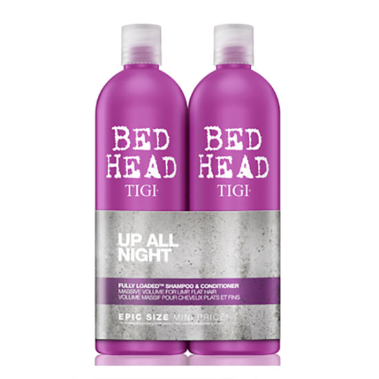 TIGI Bed Head Fully Loaded Massive Volume Tween Set: Shampoo & Conditioning Jelly