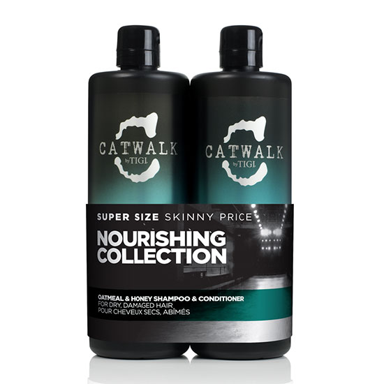 TIGI Catwalk Oatmeal and Honey Tween Shampoo & Conditioner Duo