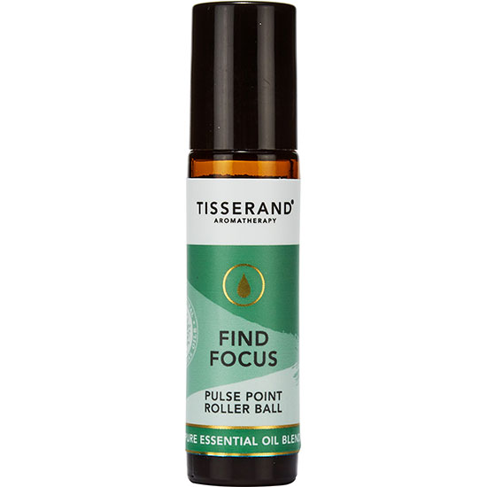 Tisserand Aromatherapy Find Focus Pulse Point Roller Ball 10ml