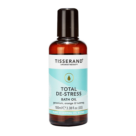 Tisserand Aromatherapy Total De-Stress Bath Oil