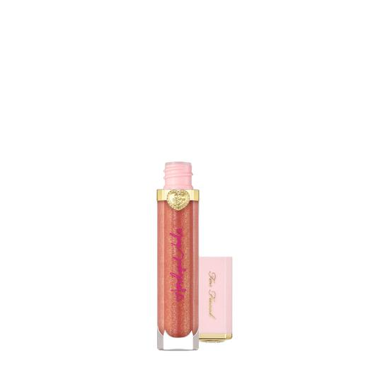 Too Faced Rich & Sparkly High Shine Sparkle Lip Gloss Social Butterfly