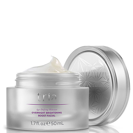 Tria Beauty Age Defying Skin Care Overnight Brightening Boost Facial Mask
