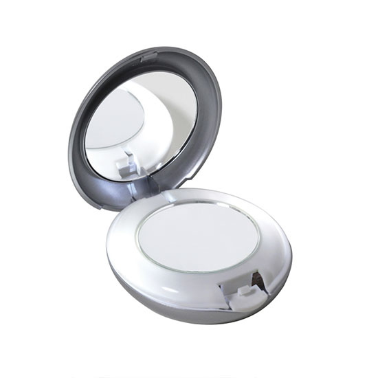 Tweezerman LED Lighted 10x/ 1x Compact Mirror