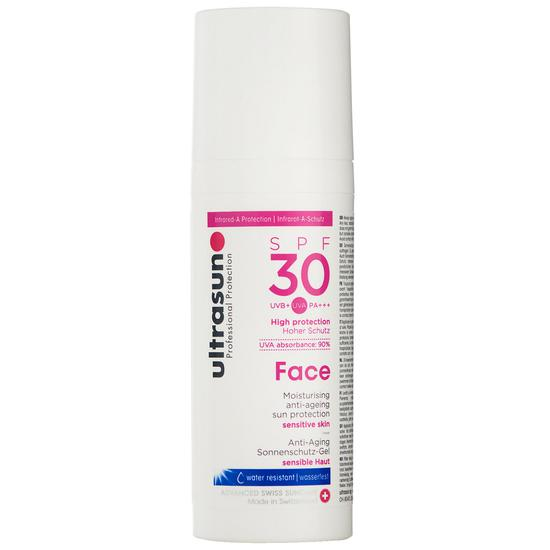 Ultrasun Face Anti-Ageing Sun Protection High SPF30 50ml