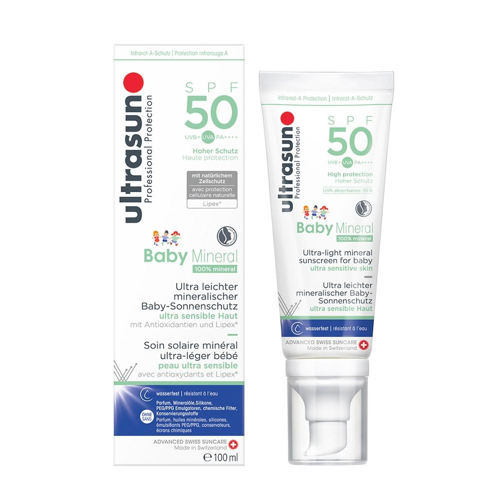 Ultrasun Mineral Baby SPF50 Lotion