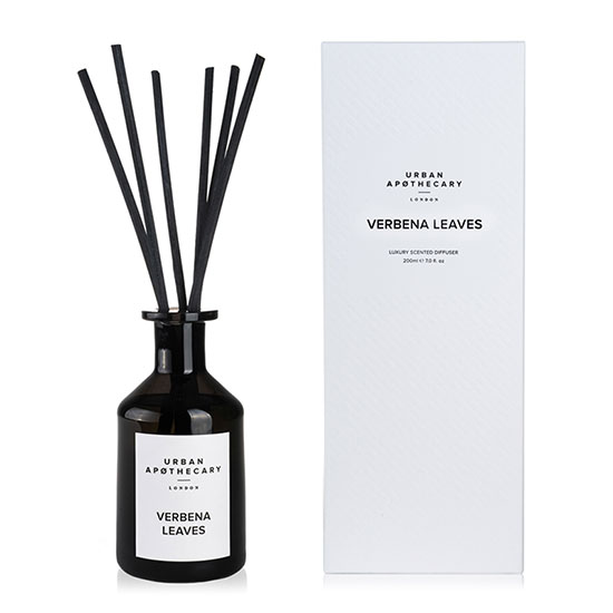 Urban Apothecary London Verbena Leaves Luxury Diffuser