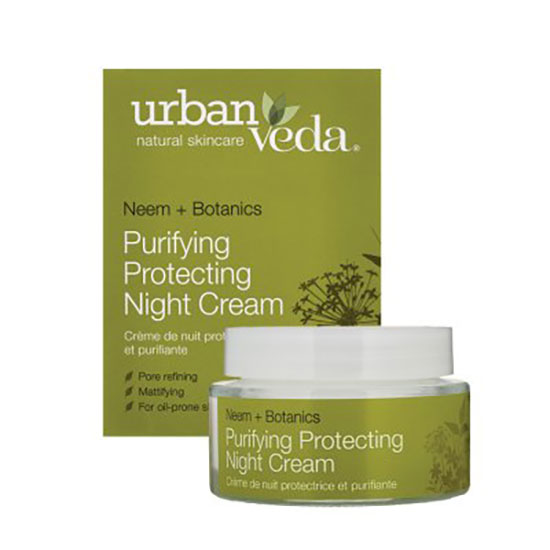 Urban Veda Purifying Protecting Night Cream