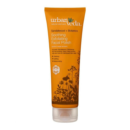 Urban Veda Soothing Exfoliating Facial Polish 125ml