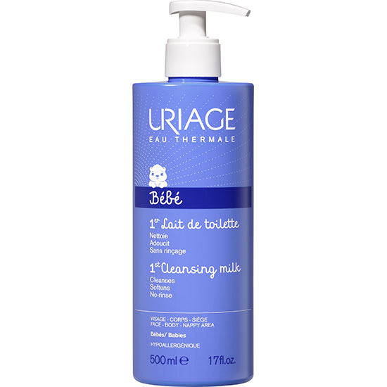 Uriage Eau Thermale Bebe 1st Cleansing Milk 500ml
