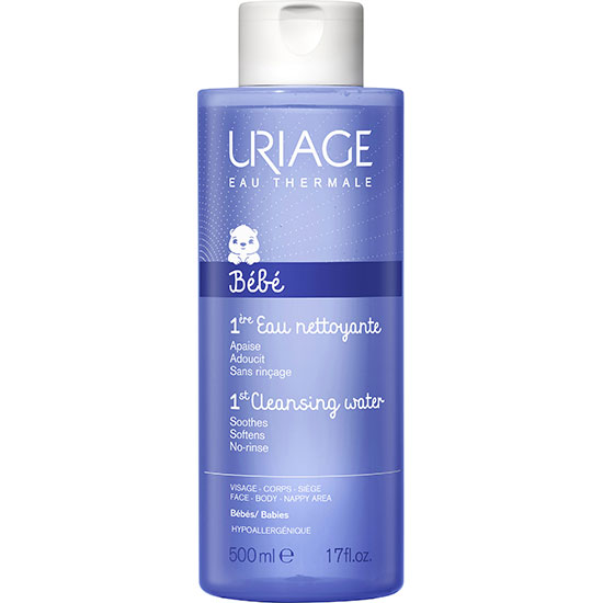 Uriage Eau Thermale Bebe 1st No Rinse Cleansing Water 500ml