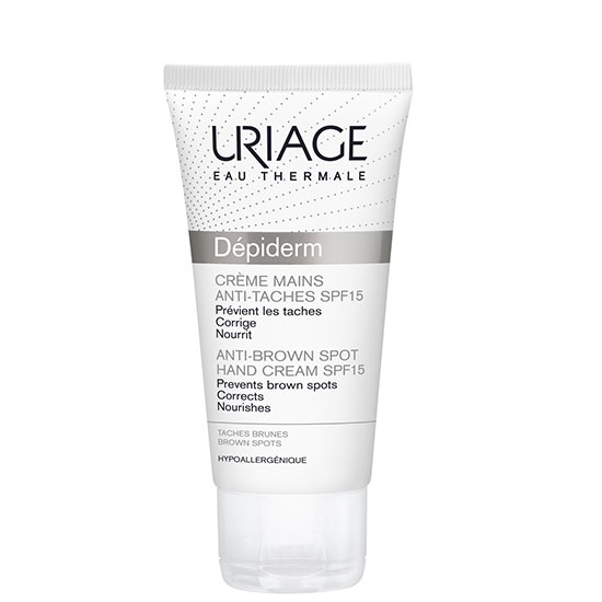 Uriage Eau Thermale Depiderm Anti-Brown Spot Hand Cream SPF15 50ml