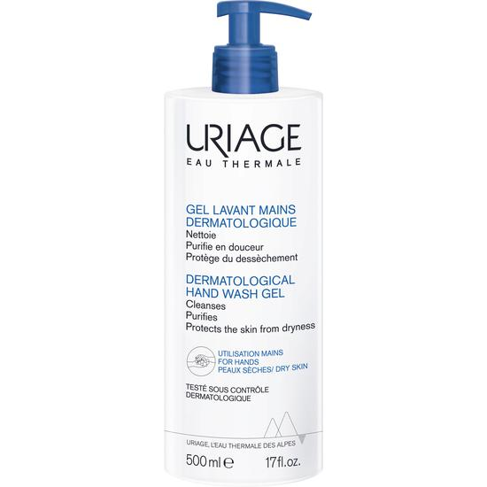 Uriage Eau Thermale Dermatological Hand Wash Gel