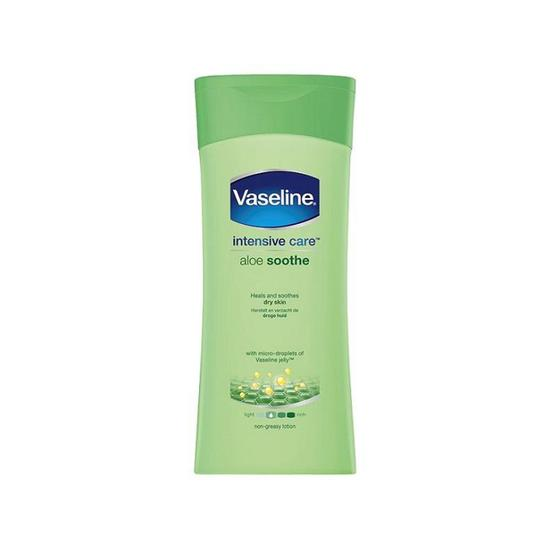 Vaseline Intensive Care Aloe Soothe Lotion Bottle 200ml