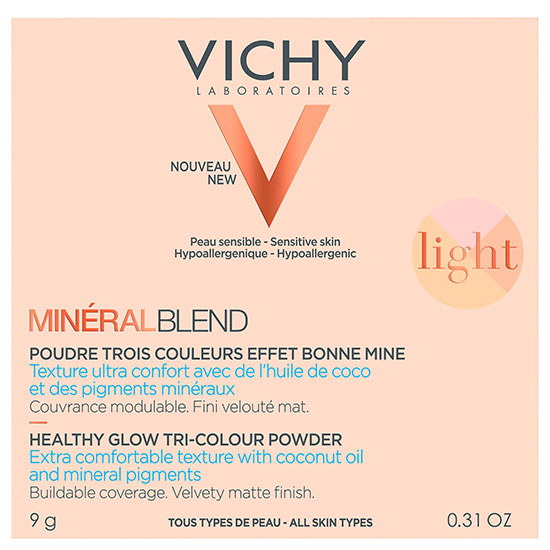 Vichy Mineralblend Tri Colour Fair Powder