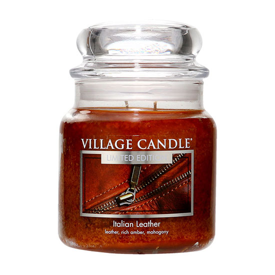 Village Candle Italian Leather Traditions Jar 454g