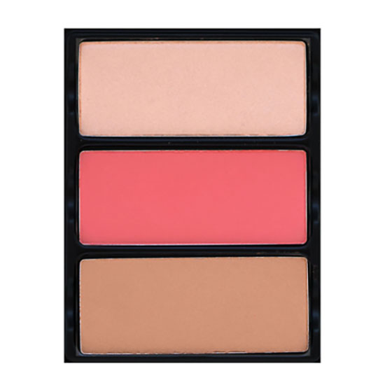Viseart Theory II Ablaze Highlighter Blush & Bronzer Palette