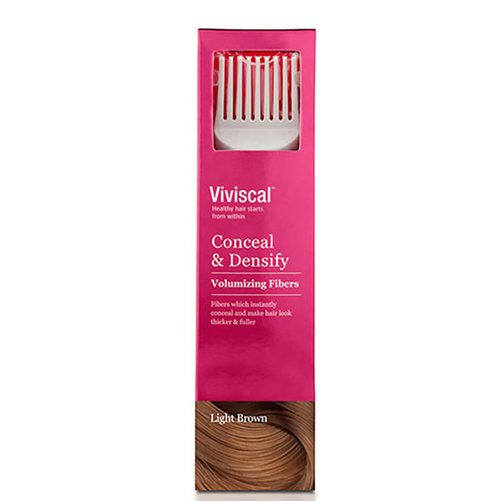 Viviscal Hair Thickening Fibres For Women Light Brown