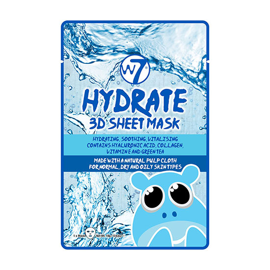 W7 Hydrate 3d Sheet Mask