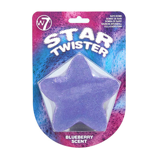 W7 Star Twister Bath Bomb Blueberry