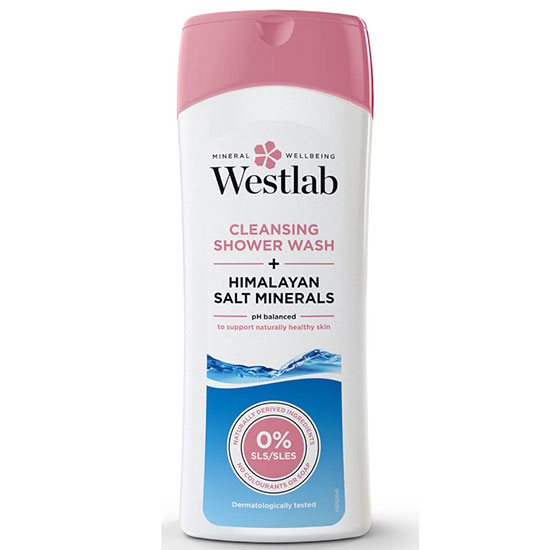 Westlab Cleansing Shower Wash with Pure Himalayan Salt Minerals