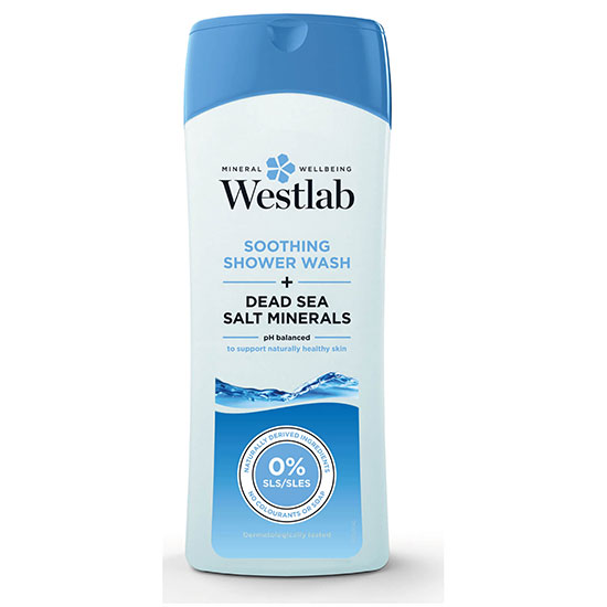 Westlab Soothing Shower Wash With Pure Dead Sea Salt Minerals