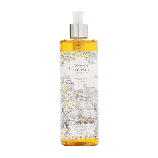 Woods of Windsor Honeyed Pear & Amber Hand Wash 350ml