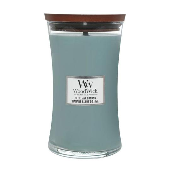 WoodWick Blue Java Banana Large Jar Candle 609.5g