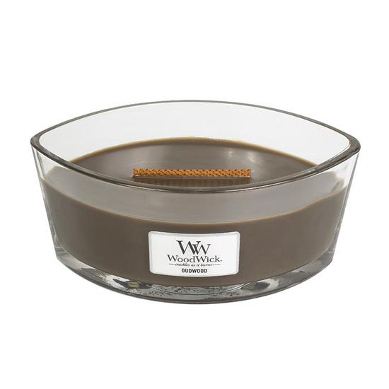 WoodWick Oudwood Large Ellipse Candle 453.6g