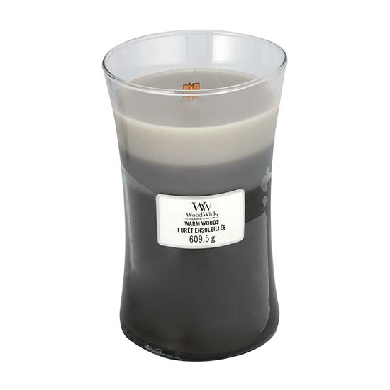 WoodWick Warm Woods Trilogy Large Jar Candle 609.5g